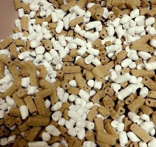 【小茜角孔豆腐砂vs小茜雙孔豆腐砂的使用比較】